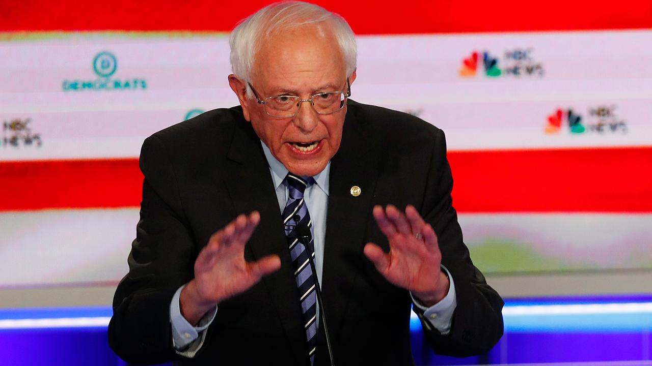 Bernie Sanders touts 'Medicare-for-all' devise during initial 2020 Democratic presidential debate