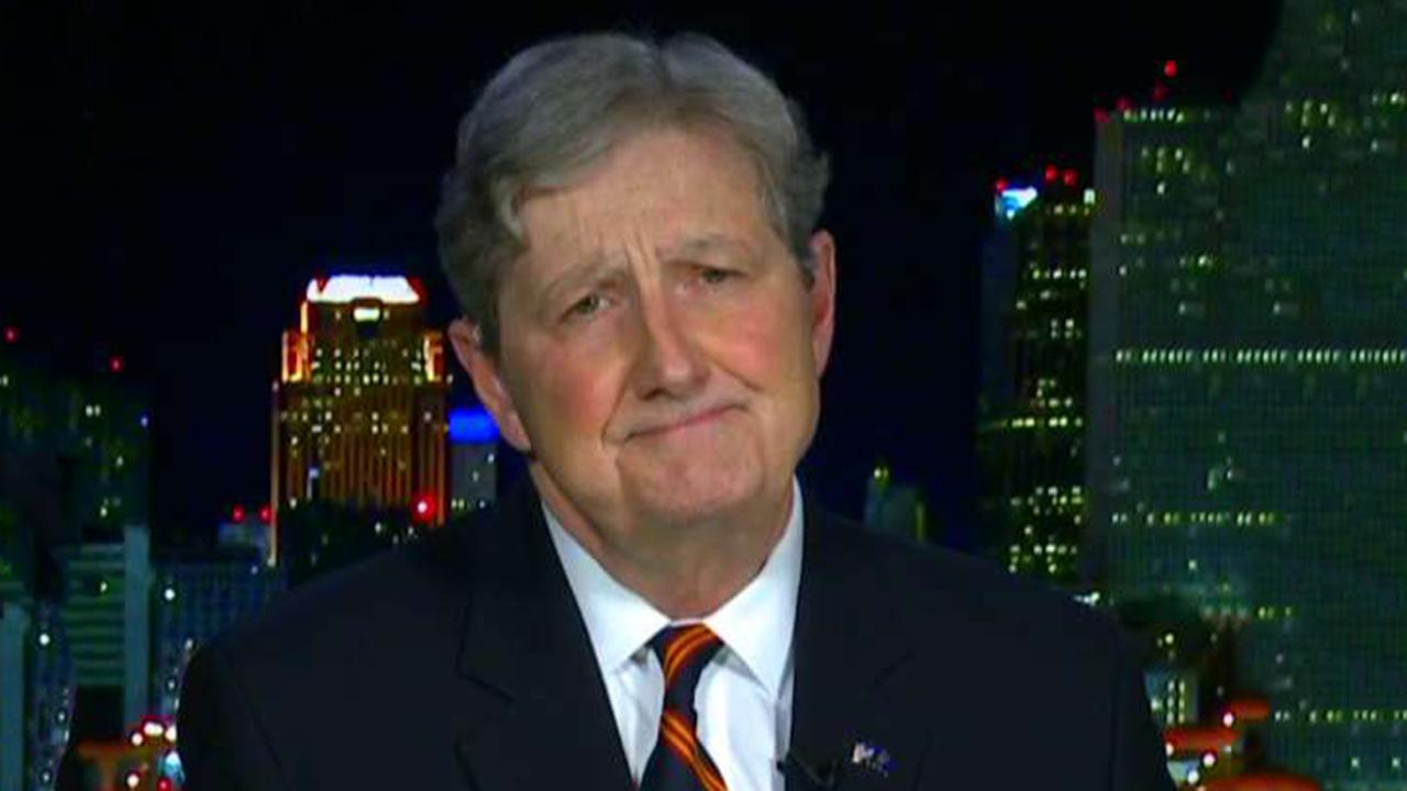 Sen. Kennedy calls 2020 Democrats 'Castro without the beard'