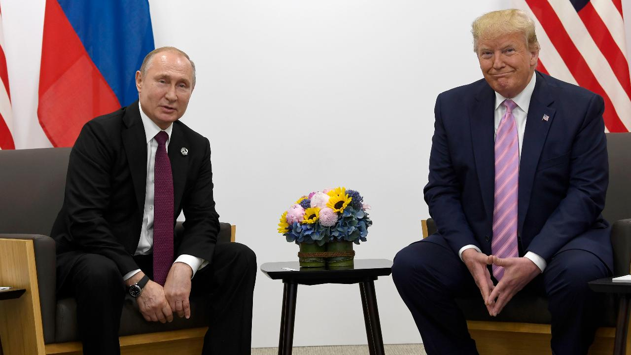 Trump's 'fake news' joke with Putin