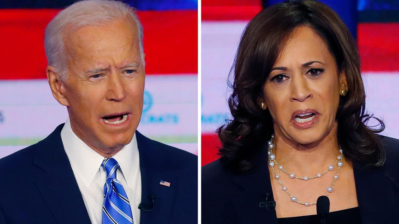 GOP heavyweights praise Kamala Harris for going after Joe Biden