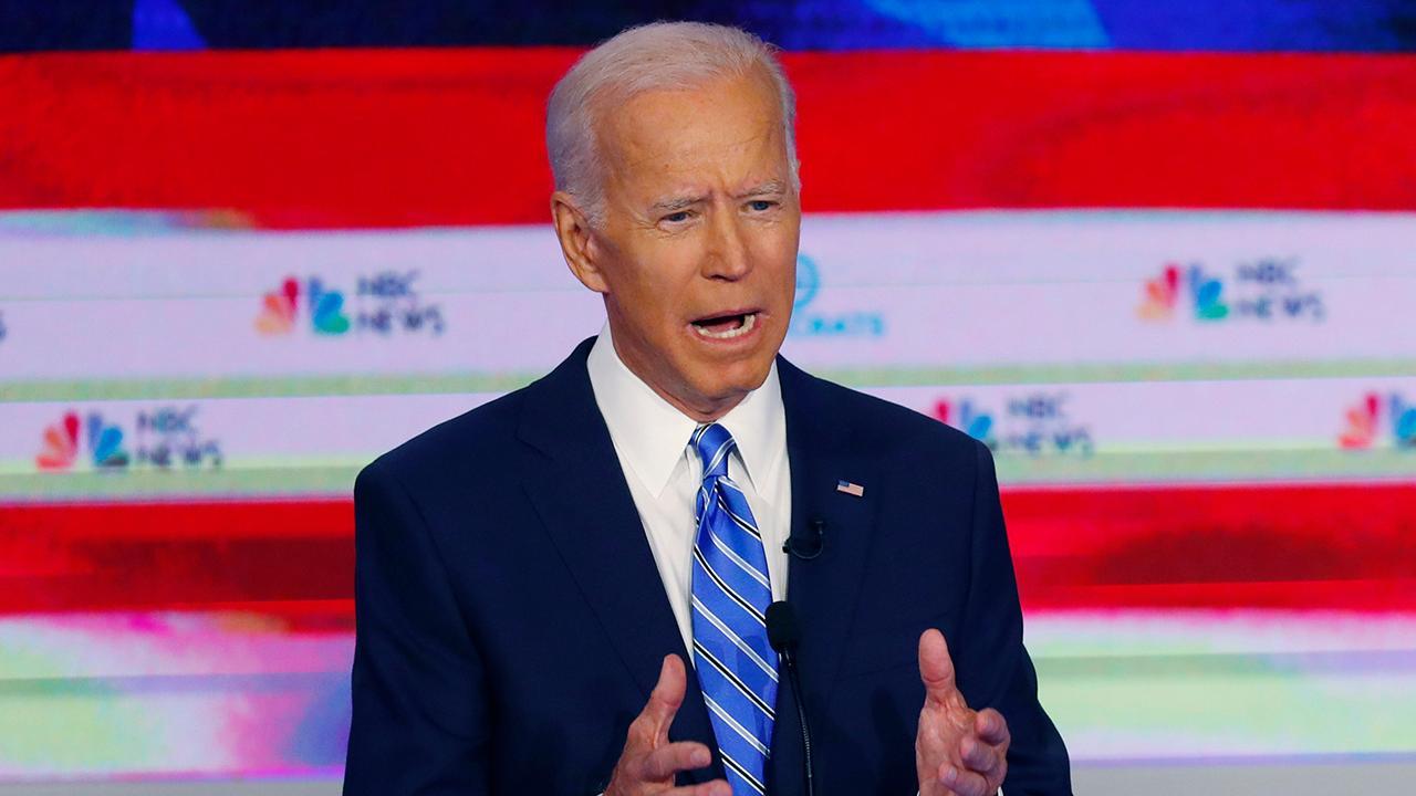 Joe Biden's presidential rivals look to capitalize as Democratic frontrunner slips