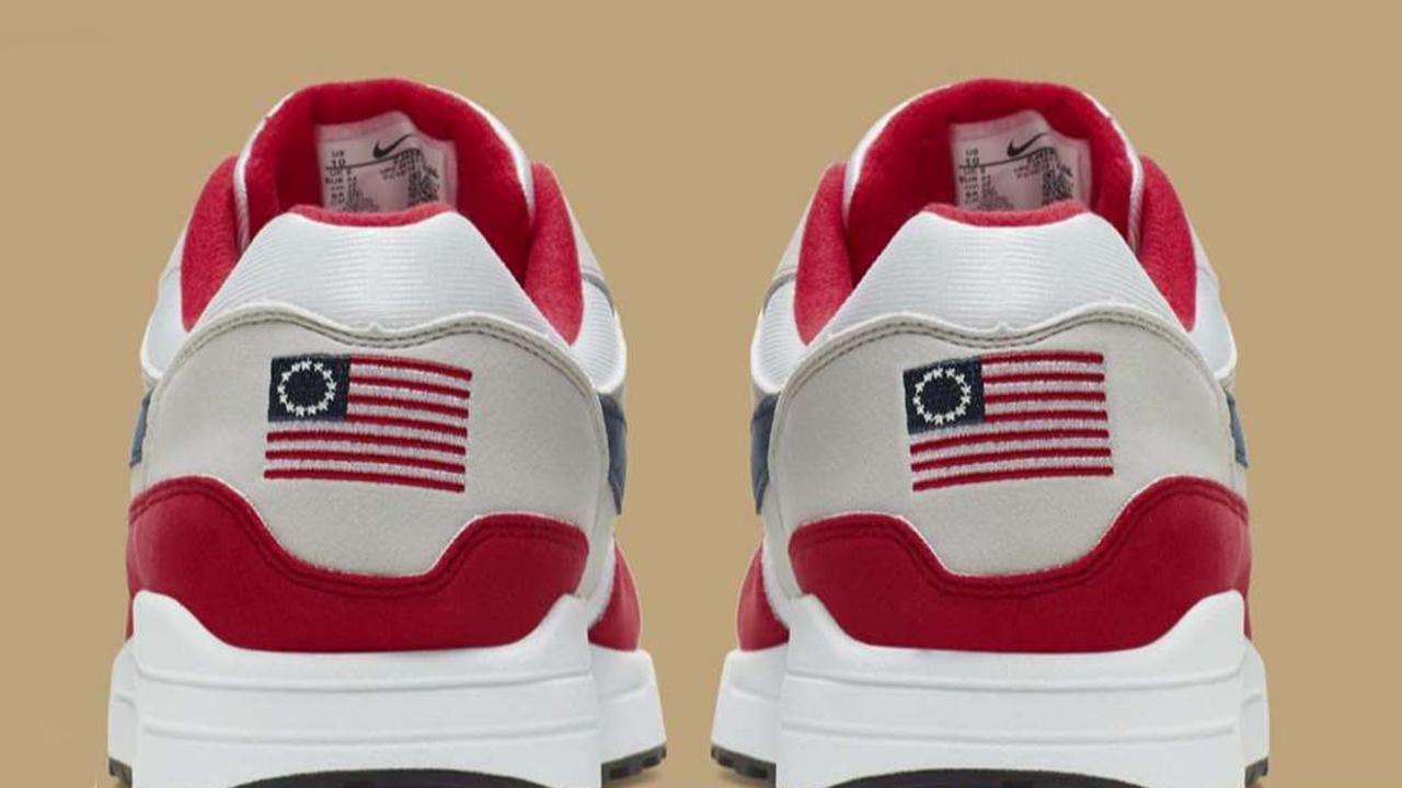Nike pulls 'Betsy Ross Flag' sneaker after Colin Kaepernick raises concern.