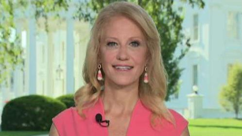 Kellyanne Conway addresses criticism of Trump's historic meeting with Kim Jong Un