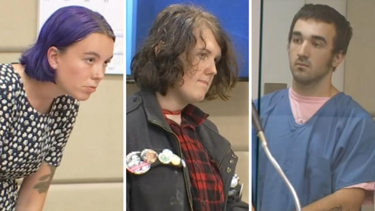 Portland protesters arrested during violent demonstrations appear in court