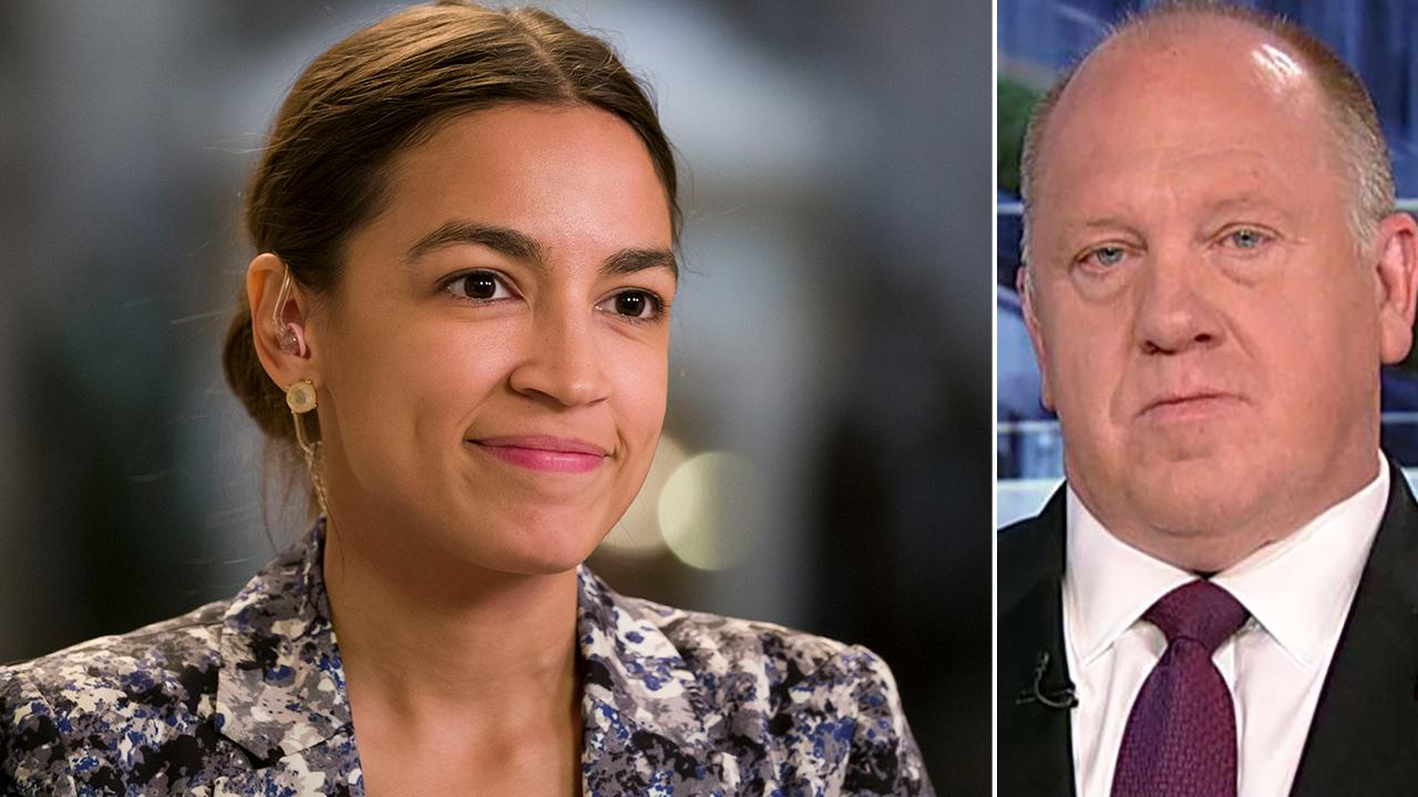 Tom Homan: Alexandria Ocasio-Cortez is intentionally misinforming the public about migrant detention centers