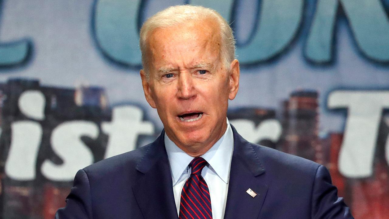 2020 Democrats confront Biden on race relations