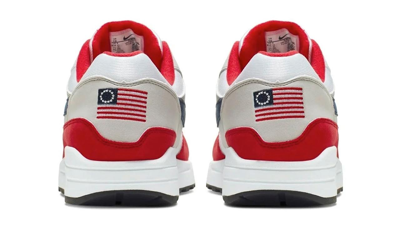 Nike nixes patriotic shoe deemed 'offensive'