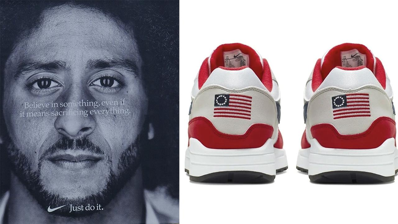 Nike defends decision to pull patriotic sneaker, Republicans seek boycott