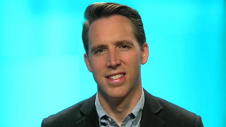 Sen. Josh Hawley says Nike's flag recall is anti-American