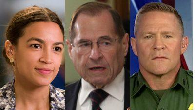 Border patrol agent responds to Nadler, AOC