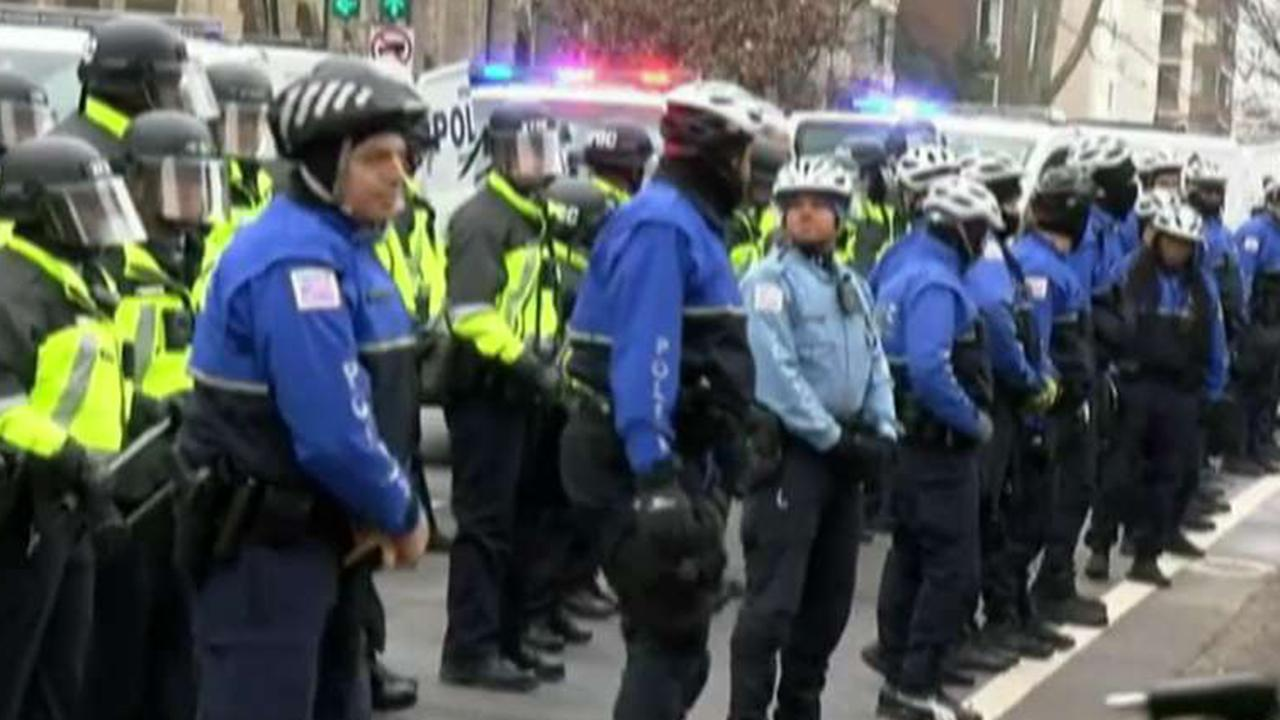 Heightened security in DC for National Independence Day Parade