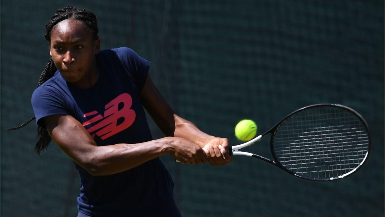 Coco Gauff mixed up in Wimbledon doubles controversy as player dumps partner by text for teenage phenom