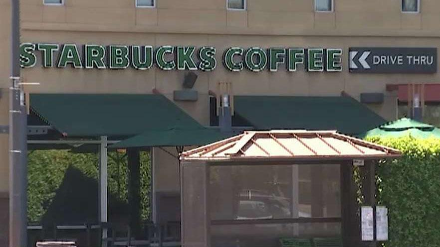 Starbucks apologizes for barista asking police officers to leave store