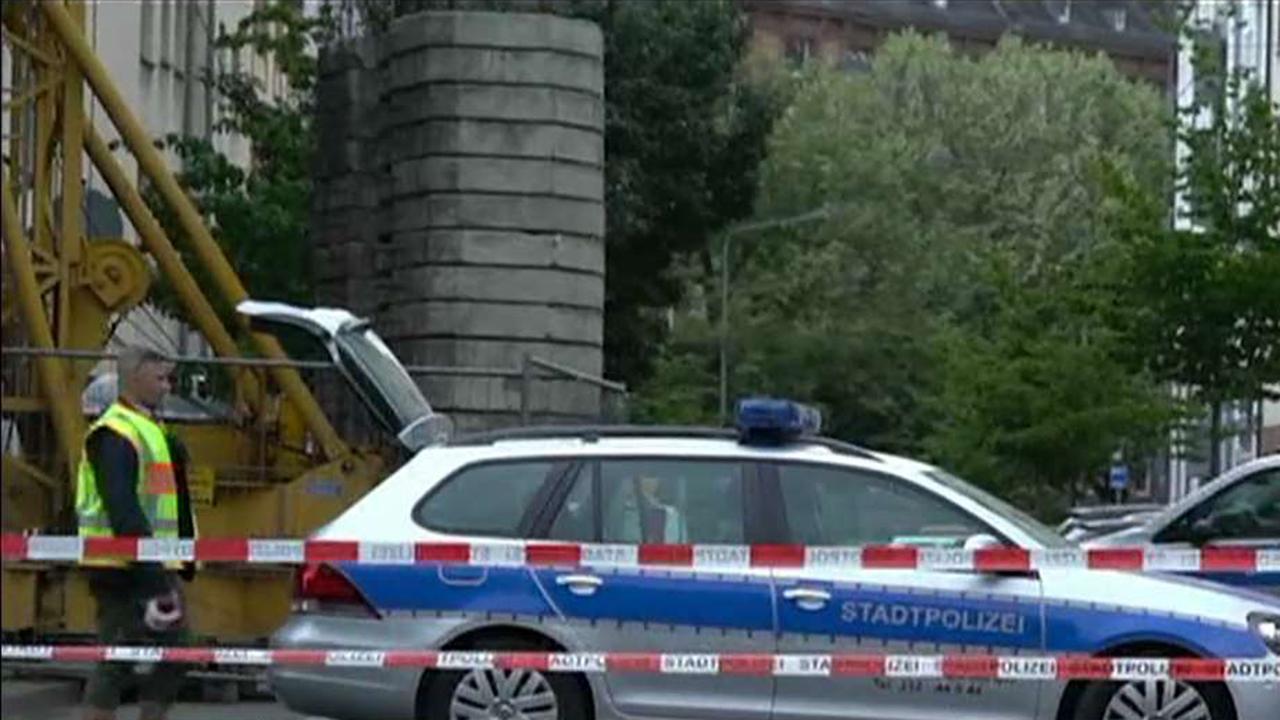 WWII bomb defused in Frankfurt, Germany