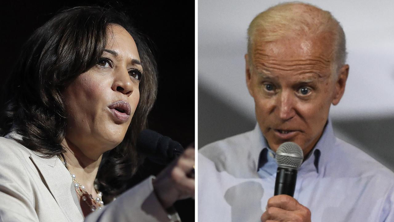 Kamala Harris praises Joe Biden's 'courage' for apologizing for comments about operative with segregationists