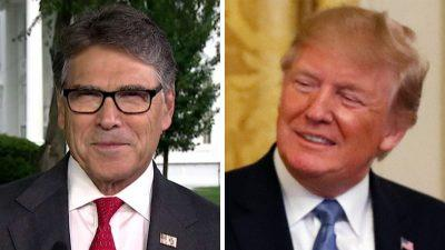 Rick Perry on Trump's protection of the environment