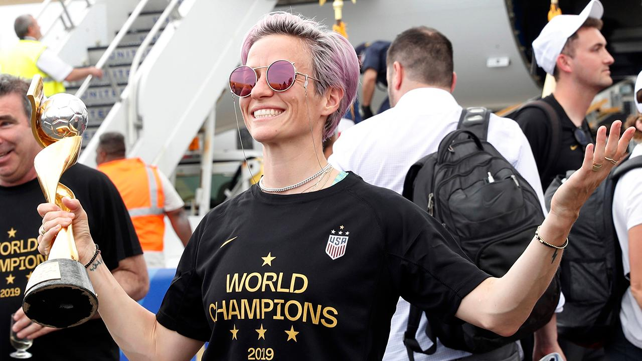 US World Cup win overshadowed by co-captain Megan Rapinoe's politics?