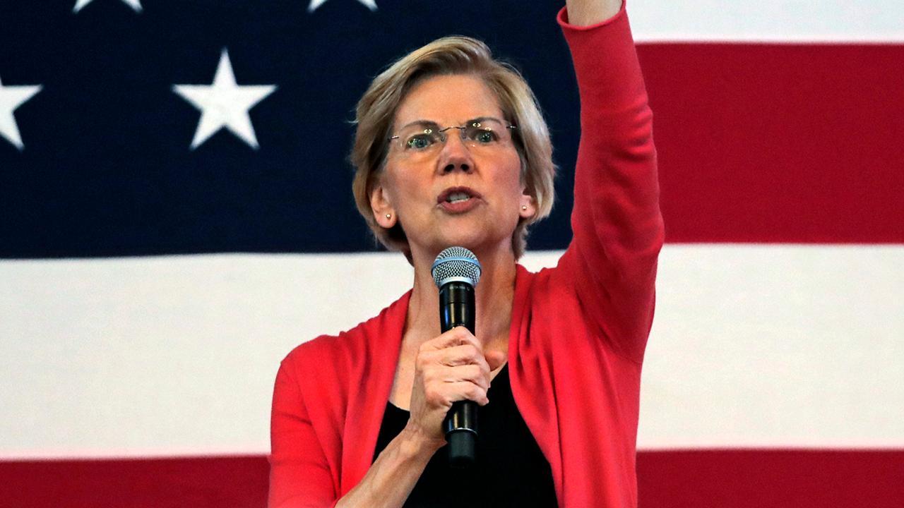 Warren secures spot behind Biden 1