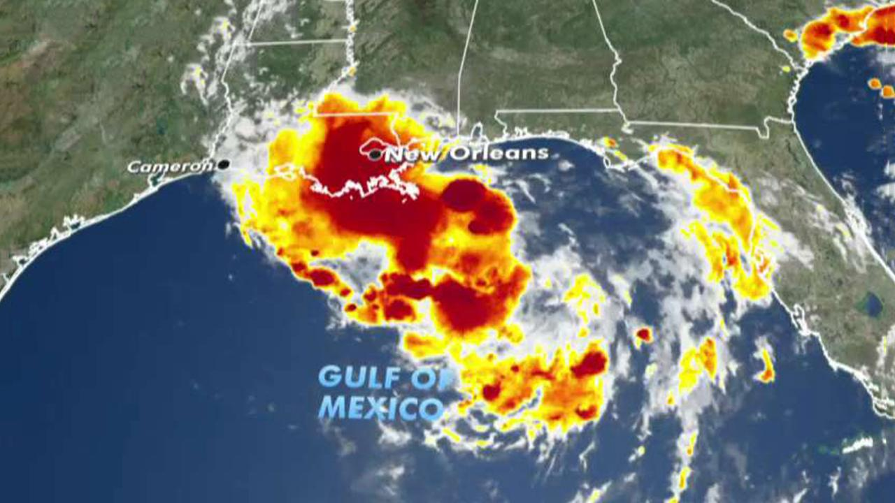 Gulf Coast braces for heavy rain, flash flooding as potential hurricane forms offshore