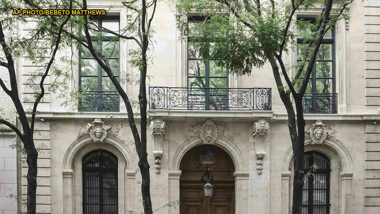 Jeffrey Epstein's opulent New York mansion said to contain bizarre, disturbing art