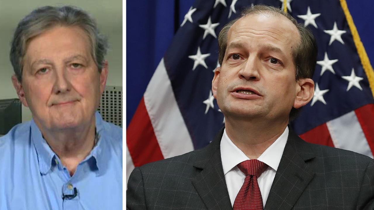 Sen. John Kennedy on Secretary Alex Acosta's resignation: It's a very unselfish thing to do