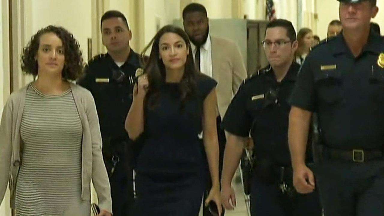 Representative Ocasio-Cortez responds to criticism she's playing that race card against Nancy Pelosi