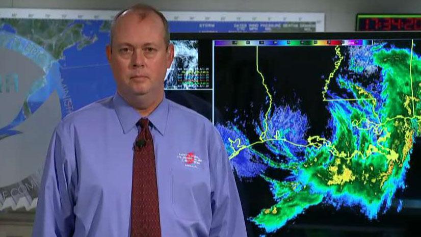 Hurricane Barry sweeps through the Gulf Coast, makes landfall