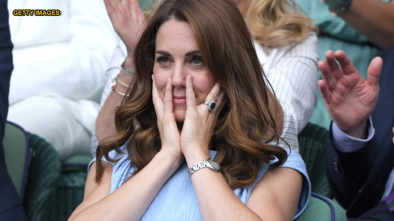 Kate Middleton exhibits hilarious facial expressions watching historic Wimbledon match