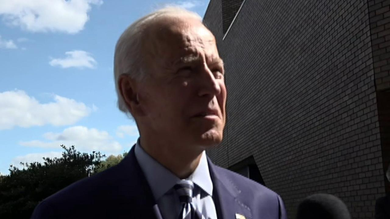 Joe Biden elaborates on his plan to introduce a public option for healthcare