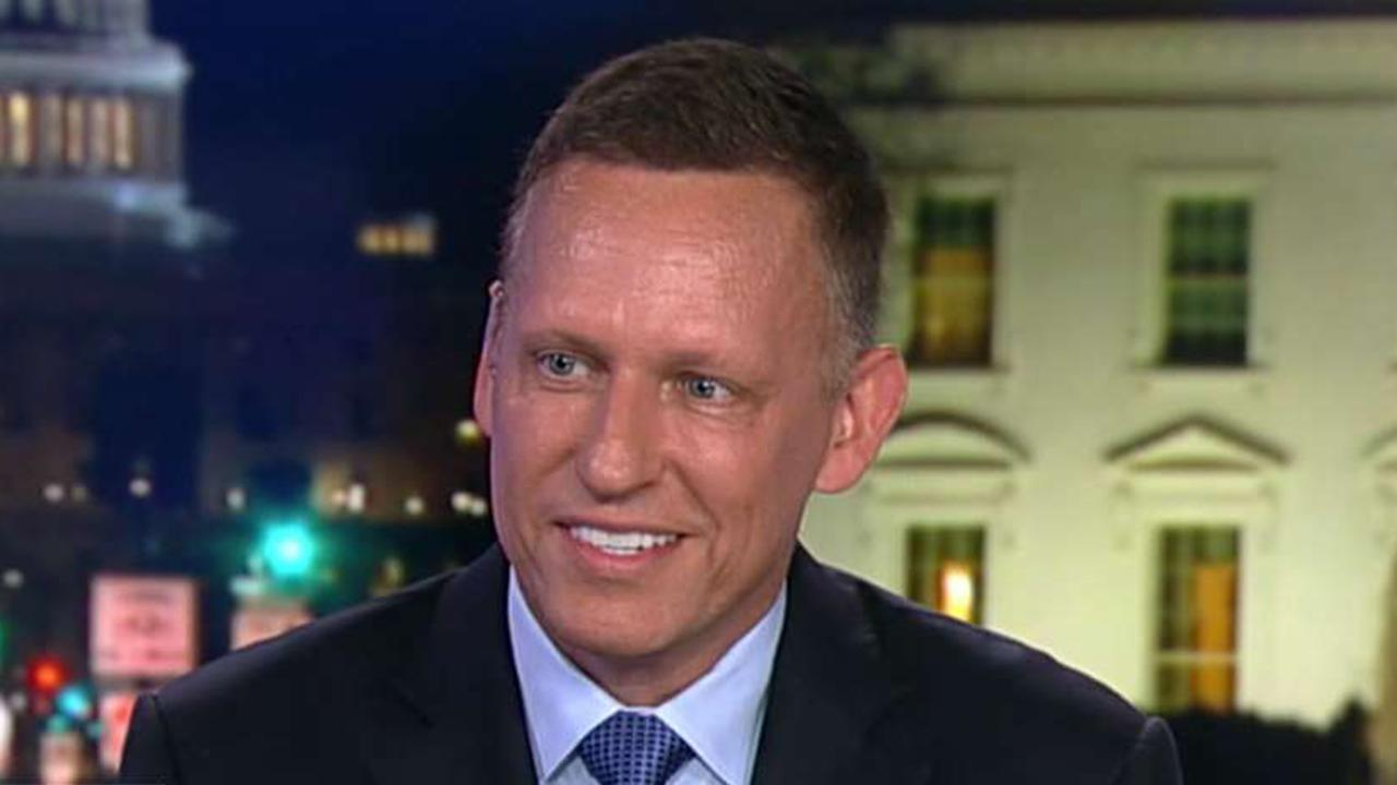 Peter Thiel: Google is working with Chinese communist government but not US military