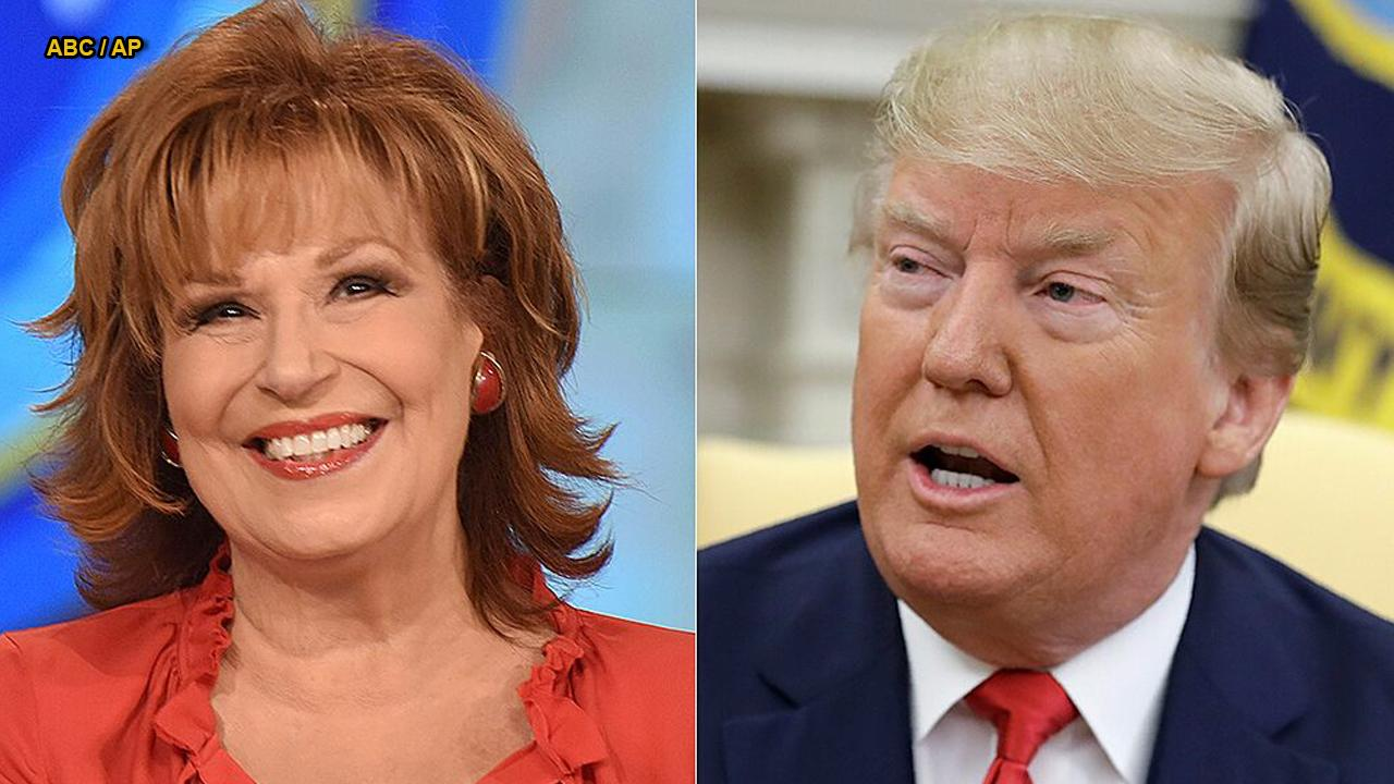 Joy Behar calls Trump a 'cornered rat,' says he's 'running scared' amid feud with Dem congresswomen