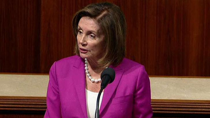 Watch: The floor fight begins, as Rep. Doug Collins objects to Pelosi