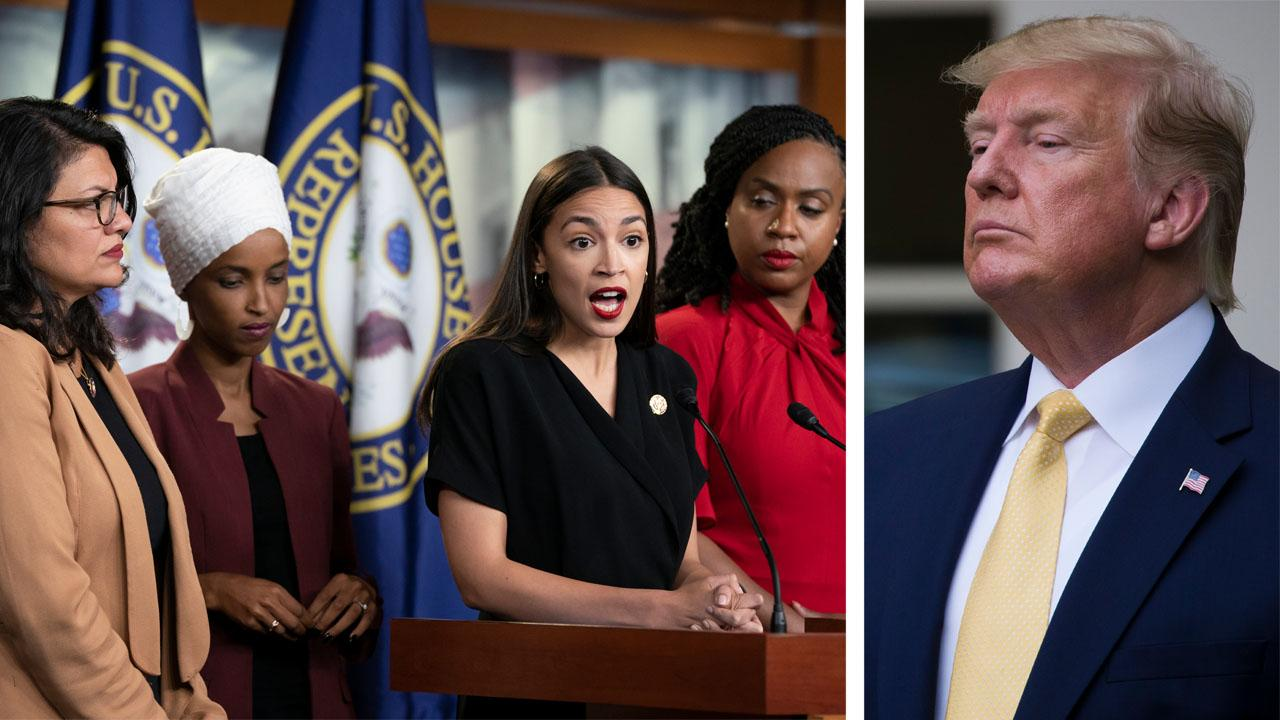 Westlake Legal Group 694940094001_6060013581001_6060009896001-vs Leslie Marshall: Trump deserves condemnation for 'racist' comments – Now Dems must unite against him Leslie Marshall fox-news/politics/elections/house-of-representatives fox-news/politics/2020-presidential-election fox-news/person/donald-trump fox-news/opinion fox news fnc/opinion fnc article 6d3d1605-41c4-564f-b15b-f2d473b11b58