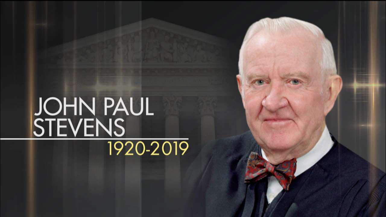 Retired Supreme Court Justice John Paul Stevens passes away at 99