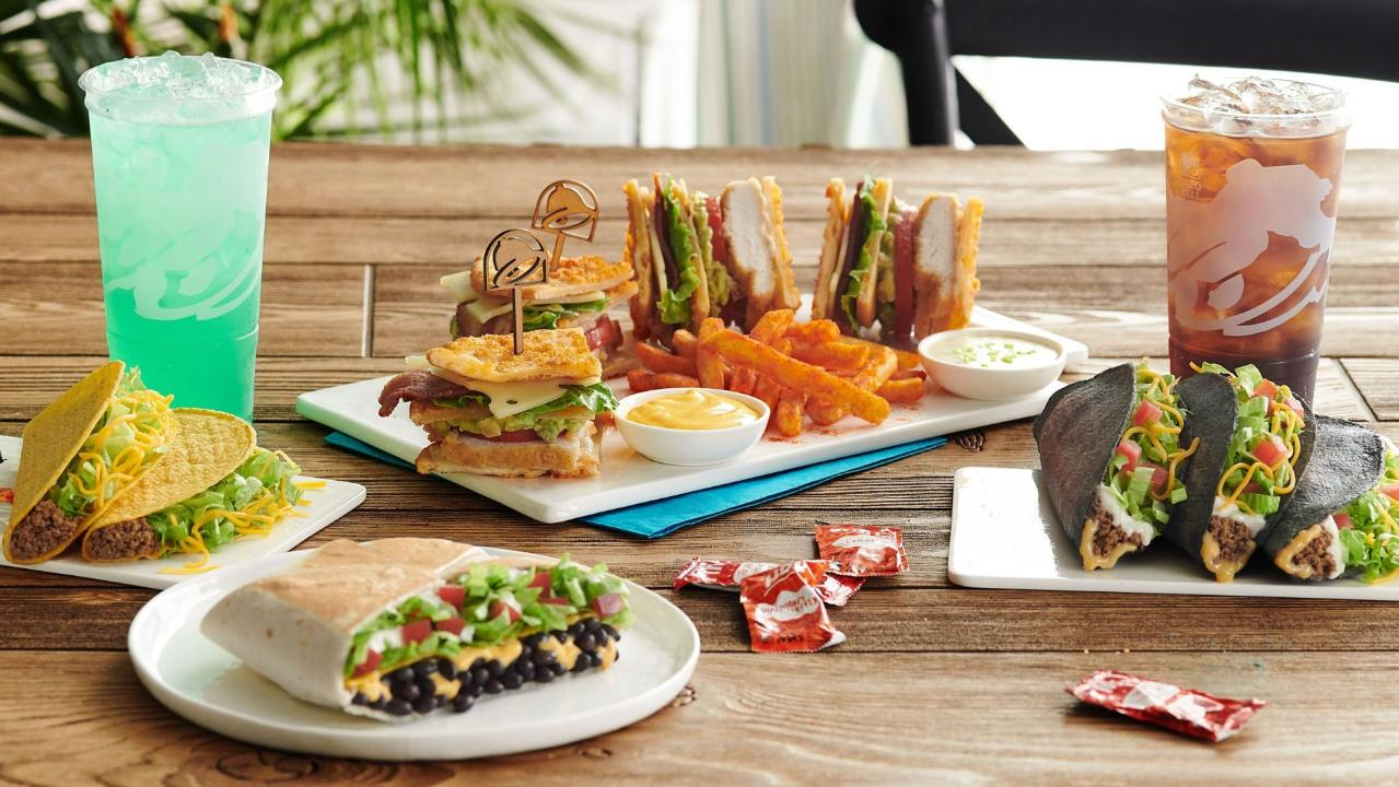 What's better than the Quesarito and Doritos Locos Tacos? The Taco Bell Hotel menu.