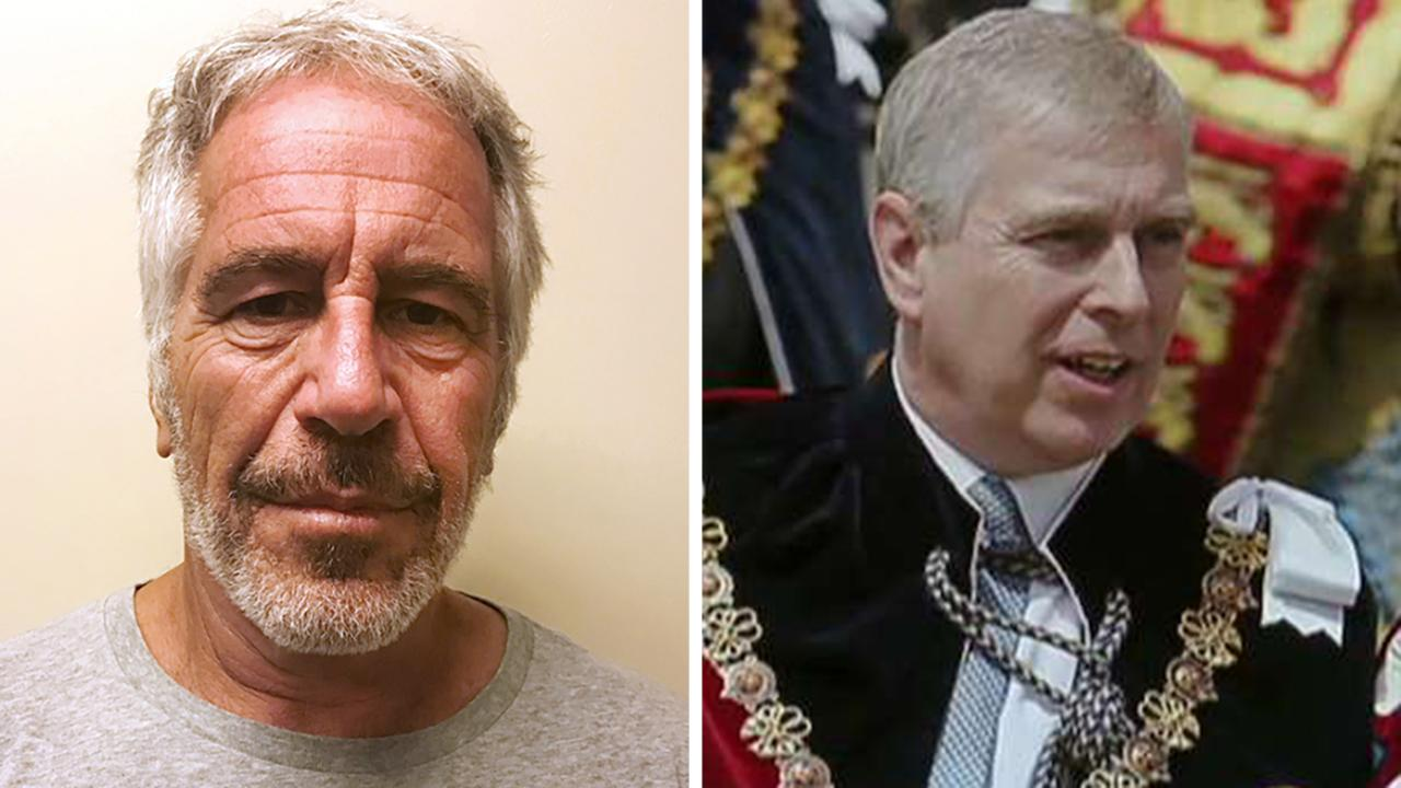 Prince Andrew Appalled By Jeffrey Epstein Claims Despite Video Of Royal Leaving Manhattan Mansion In 2010 Fox News