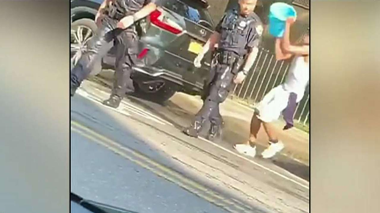 Westlake Legal Group 694940094001_6062879778001_6062880976001-vs New York police slam videos showing officers pelted with objects, drenched with water: 'reprehensible' Talia Kaplan fox-news/us/us-regions/northeast/new-york fox-news/us/crime/police-and-law-enforcement fox-news/tech/technologies/video fox-news/tech/companies/instagram fox news fnc/us fnc e755f188-4e6e-5347-b1b0-d8e57053eff7 article