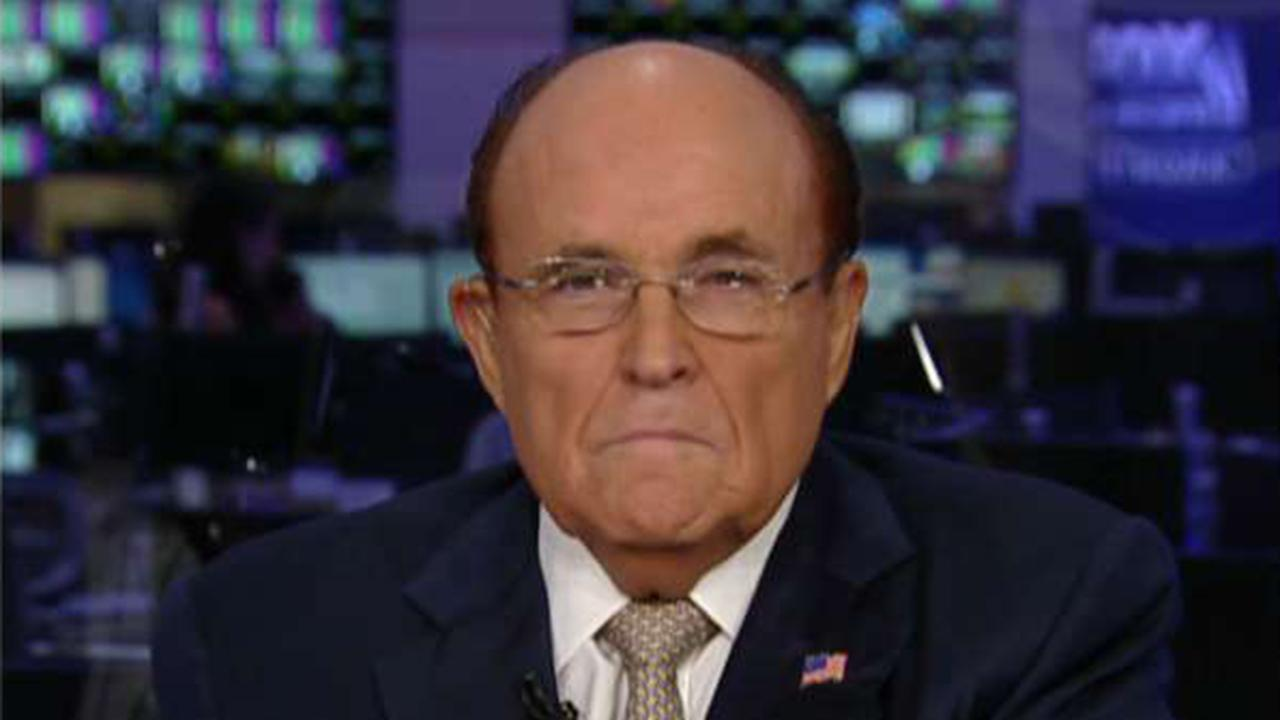 Giuliani: Why did Mueller hire the counsel for the Clinton Foundation to investigate Trump?