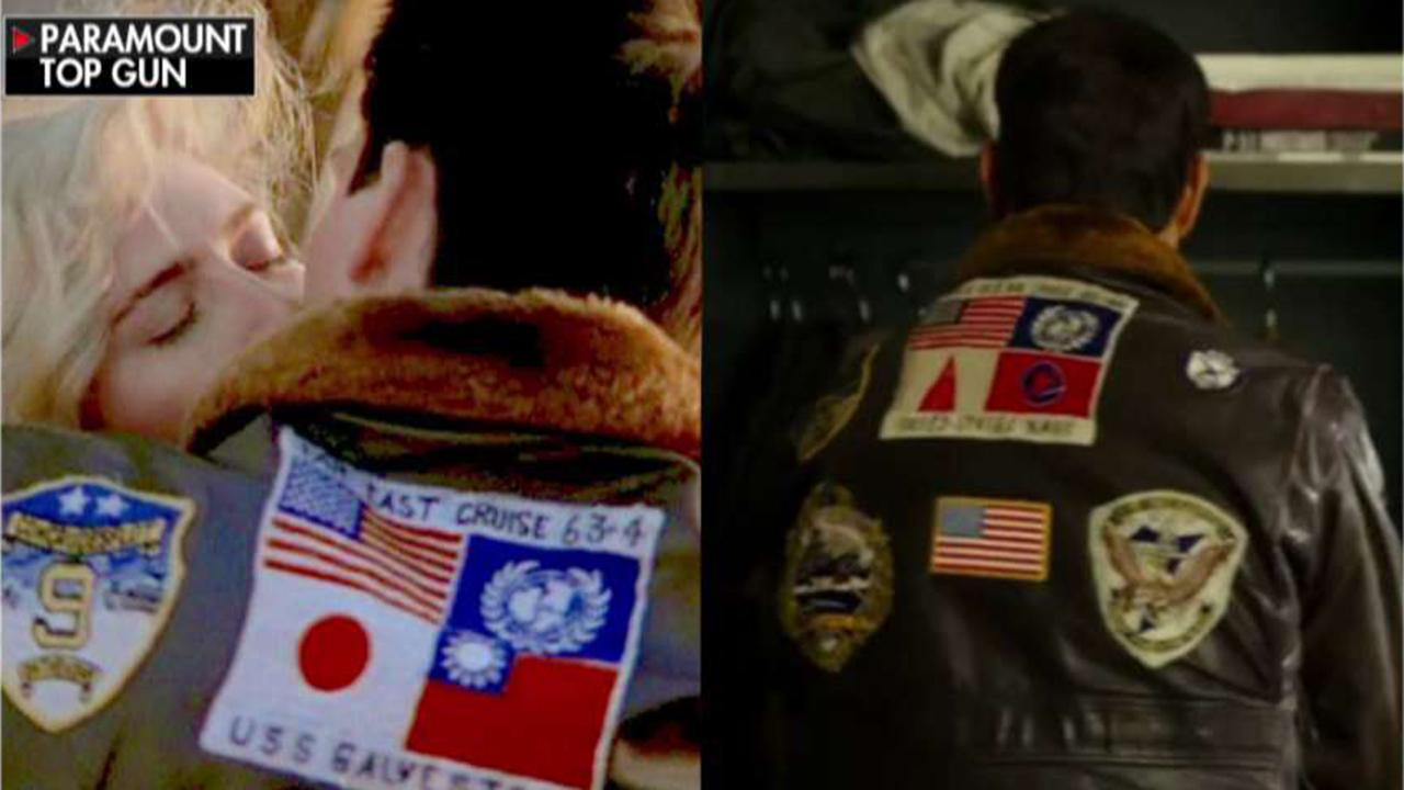 'Top Gun' trailer sparks controversy over change to Tom Cruise's jacket