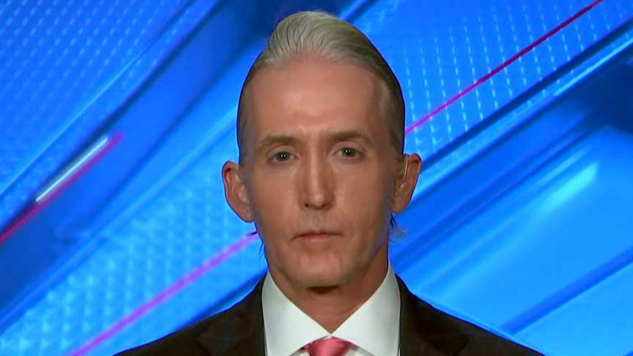 Gowdy: Mueller needs to be asked what he didn't look into