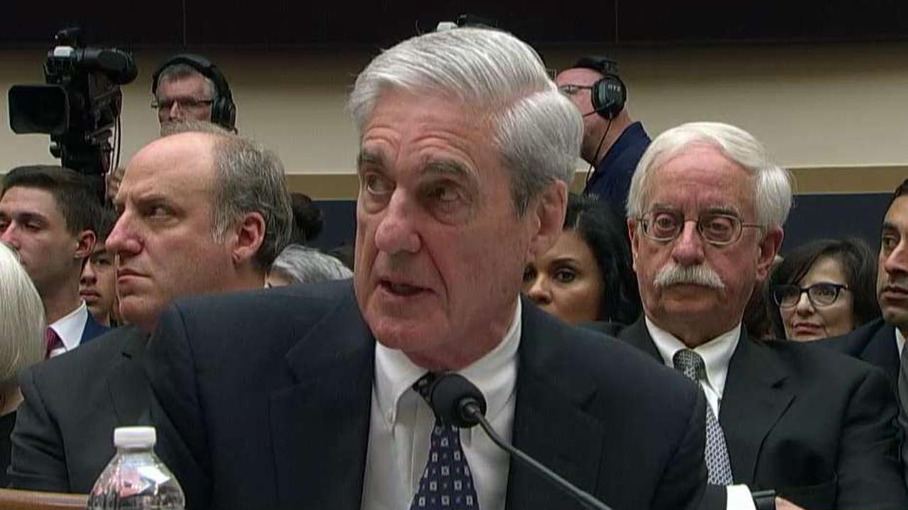 Robert Mueller testifies before House Judiciary and Intelligence Committees, mostly sticks to his report