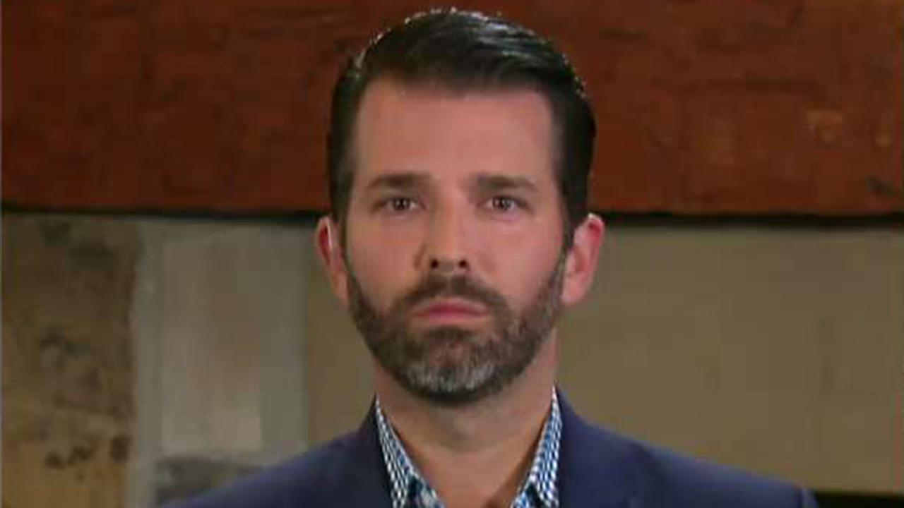Don Jr.: Russia investigation was a hoax set up by the Democrats