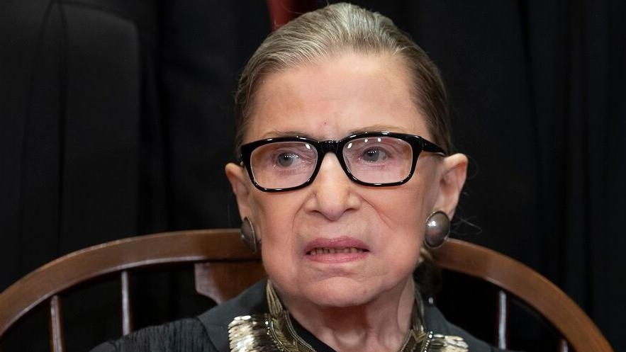 Supreme Court Justice Ruth Bader Ginsburg pushes back, defends conservative colleagues