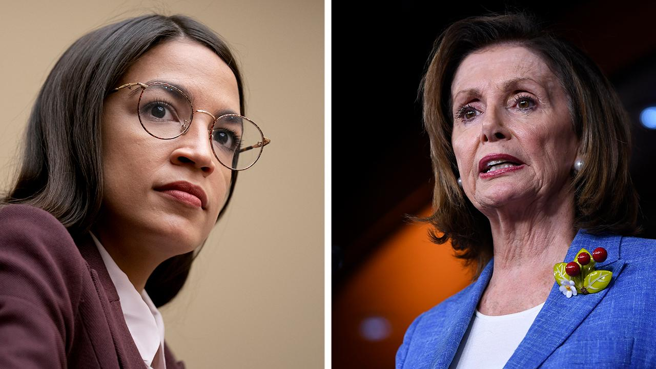 Nancy Pelosi, Alexandria Ocasio-Cortez meet to ease party infighting