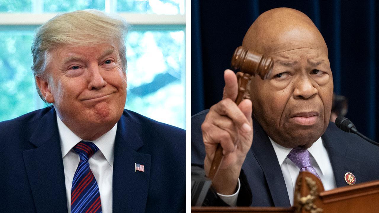President Trump launches new attacks against Rep. Elijah Cummings