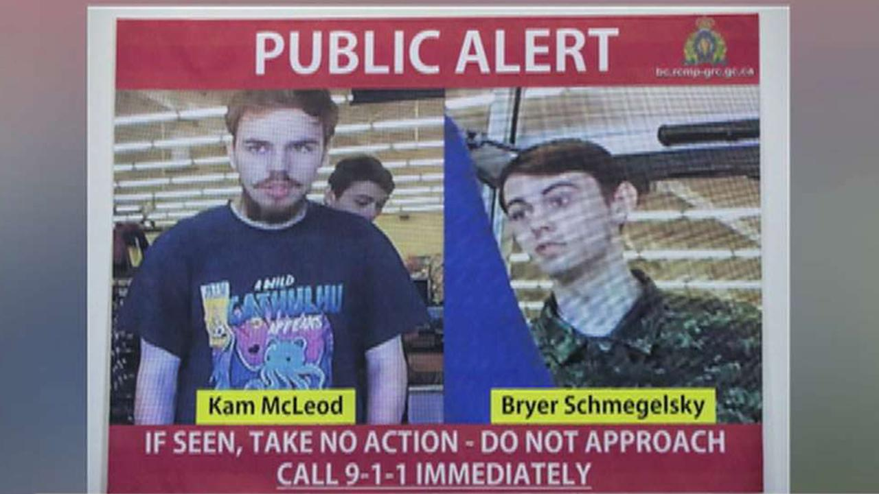 Police in Canada respond to credible tip as manhunt continues for teen killing spree suspects