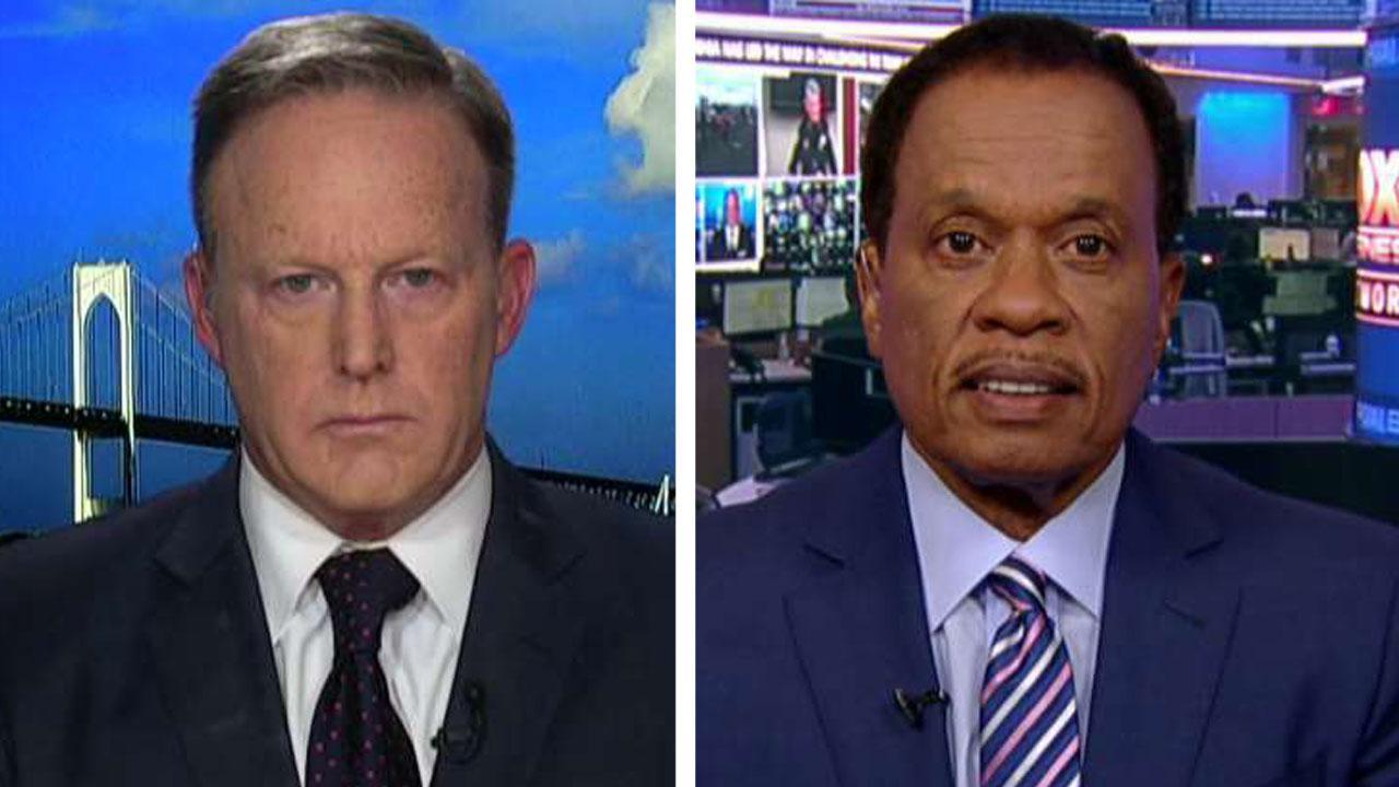 Westlake Legal Group 694940094001_6065319224001_6065300562001-vs Sean Spicer and Juan Williams clash over Trump's Baltimore criticism Victor Garcia fox-news/shows/the-story fox-news/person/donald-trump fox-news/media/fox-news-flash fox-news/media fox news fnc/media fnc d515f564-d6f9-5cb6-b2e2-6002e419dac5 article