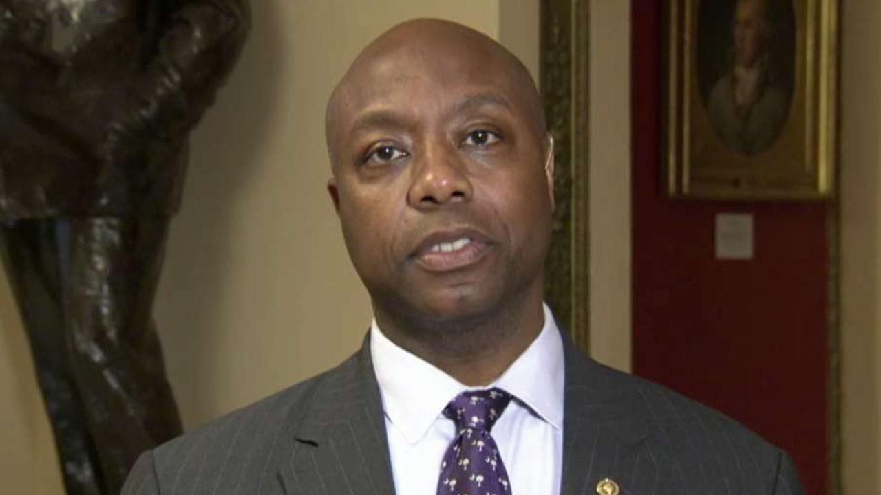 Sen. Tim Scott says Trump's feud with Cummings isn't productive, but tweets weren't racially motivated