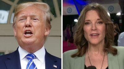 Marianne Williamson reacts to performance in first July debate