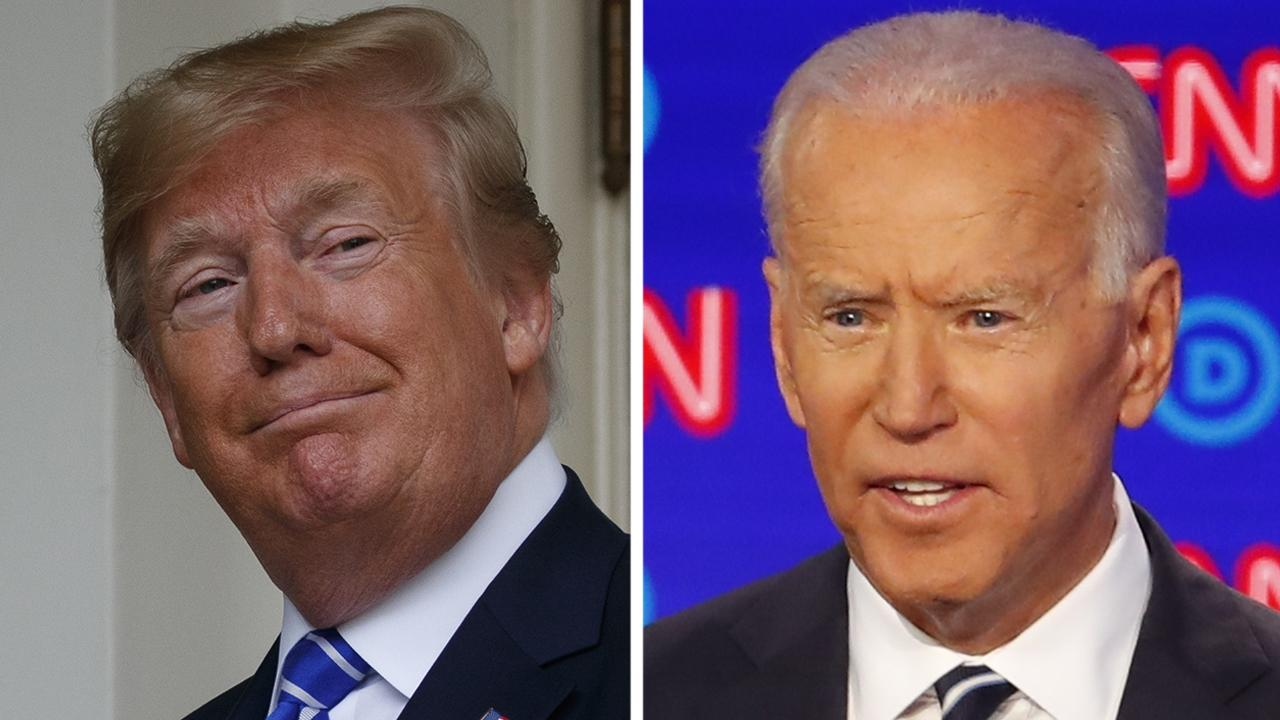 Trump campaign welcomes taking on Joe Biden in a general election